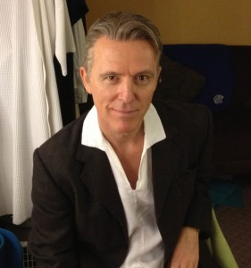 Bryan Scott Johnson as Harry Bright in Broadway's Mamma Mia!